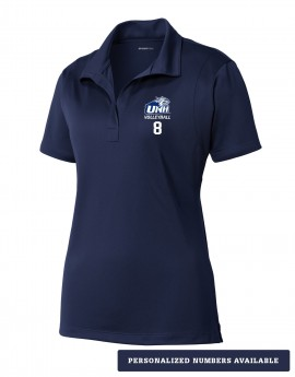 UNH VOLLEYBALL WOMEN'S SPORT WICK POLO
