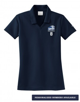 UNH VOLLEYBALL WOMEN'S NIKE DRI-FIT POLO