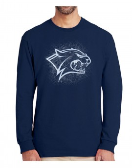 UNH BELIEVE SKATE CAT UNISEX  LONG SLEEVE TEE