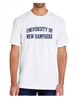 UNH TEXT UNISEX TEE