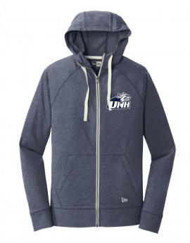 UNH WILDCAT HEAD UNISEX ZIP HOODY