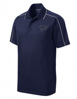 UNH REFLECTIVE WILDCAT HEAD MEN'S SPORT POLO