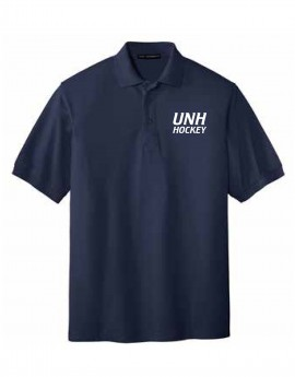 UNH HOCKEY MEN'S SILK TOUCH POLO