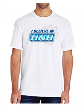 UNH BELIEVE CHISELED UNISEX TEE