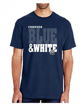 UNH FOREVER BLUE & WHITE UNISEX TEE