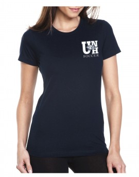 UNH SOCCER WILDCAT HEAD WOMEN'S TEE