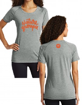NATURE GROUPIE WOMEN'S TRI-BLEND WICKING TEE