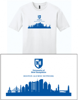 UNH CITY ALUMNI MEN'S TEE - BOSTON