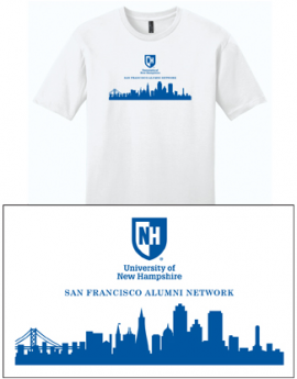 UNH CITY ALUMNI MEN'S TEE - SAN FRANCISCO