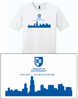 UNH CITY ALUMNI MEN'S TEE - CHICAGO