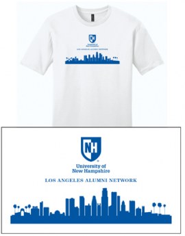 UNH CITY ALUMNI MEN'S TEE - LOS ANGELES