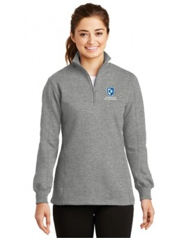 UNH WOMEN'S 1/4 ZIP SWEATSHIRT