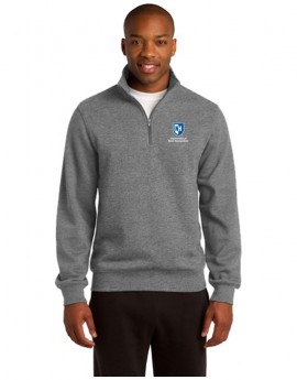 UNH MEN'S 1/4 ZIP SWEATSHIRT
