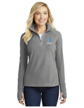 UNH WOMEN'S 1/2 ZIP MIRCOFLEECE