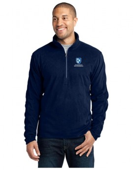 UNH MEN'S 1/2 ZIP MIRCOFLEECE