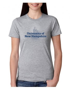 UNH FADED THOMPSON HALL WOMEN'S TEE