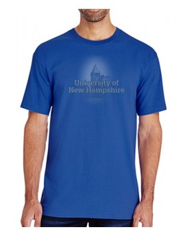 UNH FADED THOMPSON HALL MEN'S TEE