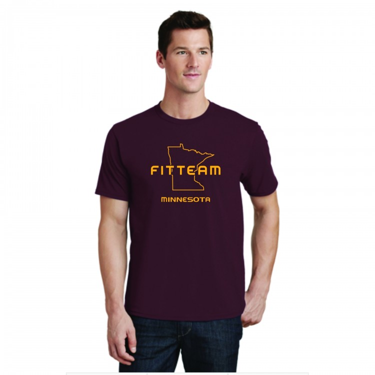 FITTEAM MINNESOTA UNISEX T-SHIRT.  (PC450)