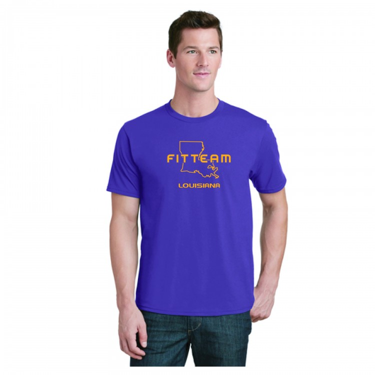 FITTEAM LOUISIANA, UNISEX T-SHIRT