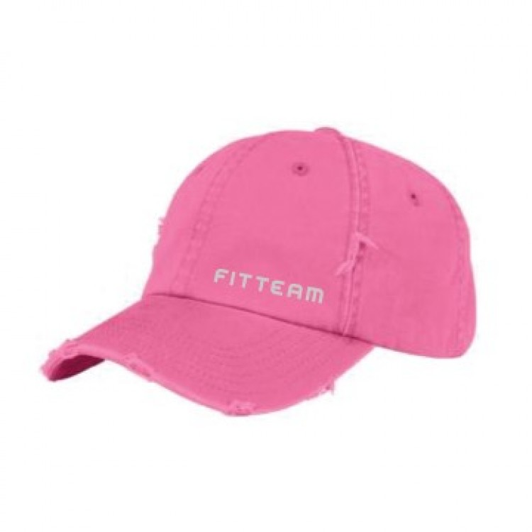 FITTEAM DISTRESSED CAP