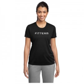 FITTEAM LADIES POSICHARGE COMPETITOR TEE