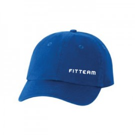 FITTEAM SMALL FIT BIO-WASHED UNSTRUCTURED CAP