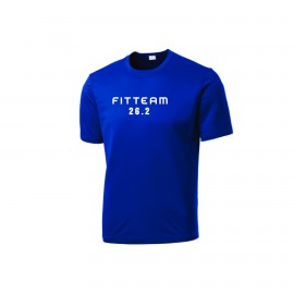FITTEAM 26.2 MARATHON UNISEX T-SHIRT. (ST350)