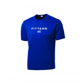 FITTEAM 5K UNISEX DRI-FIT T-SHIRTS. (ST350)