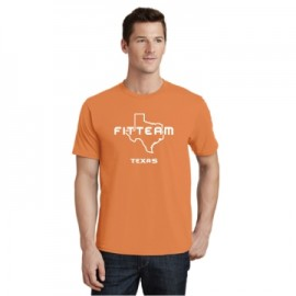 FITTEAM TEXAS UNISEX T-SHIRT.  (PC450)