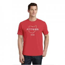 FITTEAM OHIO UNISEX T-SHIRT.  (PC450)