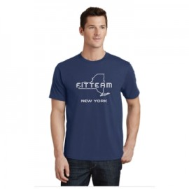 FITTEAM NEW YORK UNISEX T-SHIRT.  (PC450)