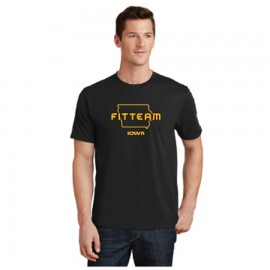 FITTEAM IOWA UNISEX T-SHIRT (PC450)