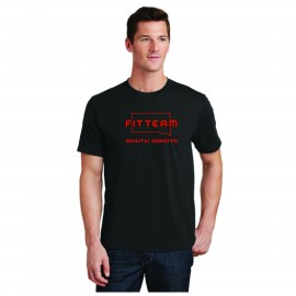 FITTEAM SOUTH DAKOTA UNISEX T-SHIRT