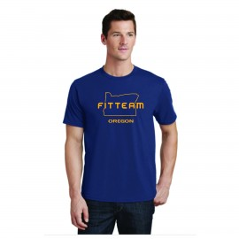 FITTEAM OREGON UNISEX T-SHIRT