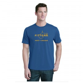 FITTEAM WEST VIRGINIA, UNISEX T-SHIRT