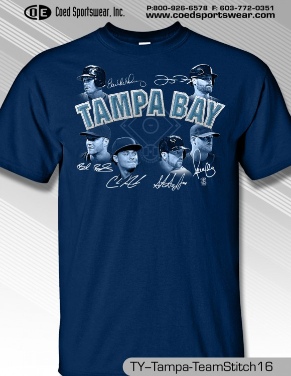 Tampa Bay 2016 Team Stitch Shirt