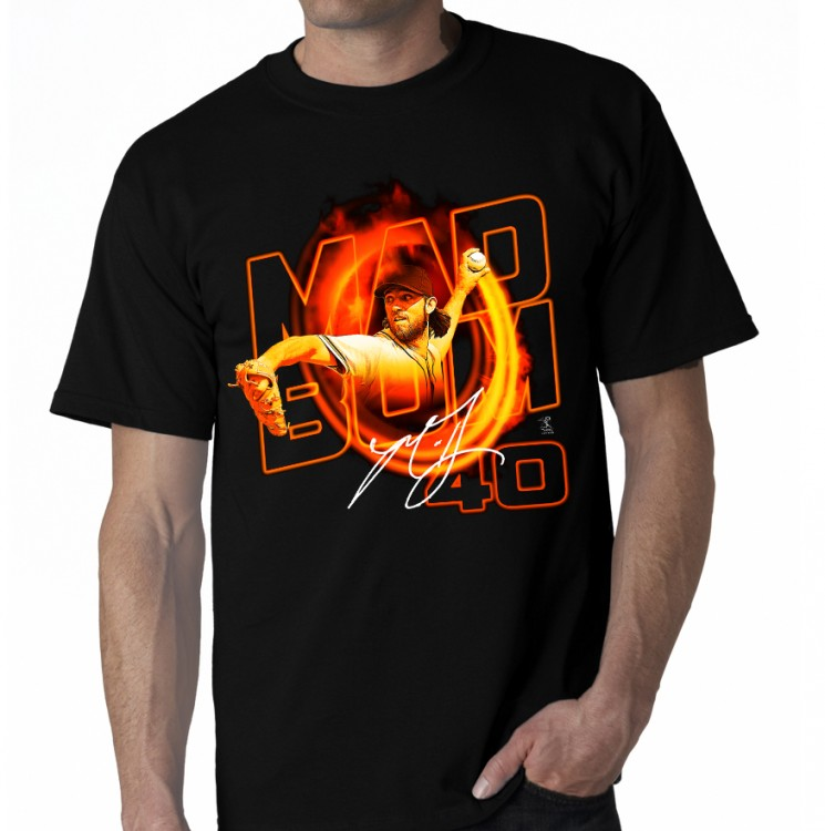 "SAN FRANCISCO- BUMGARNER ""MAD BUM"" TEE"