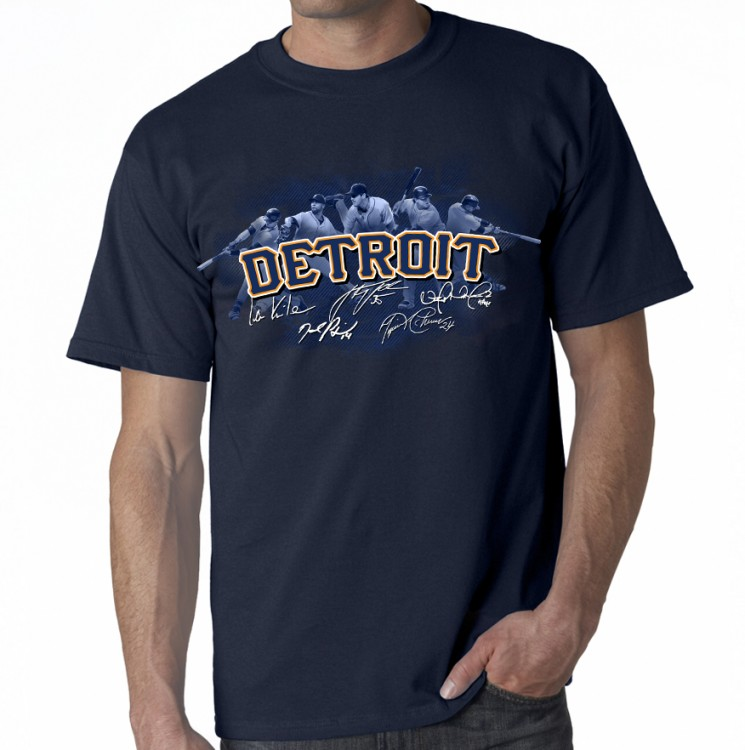 "Detroit - Team ""Action"" T-Shirt"