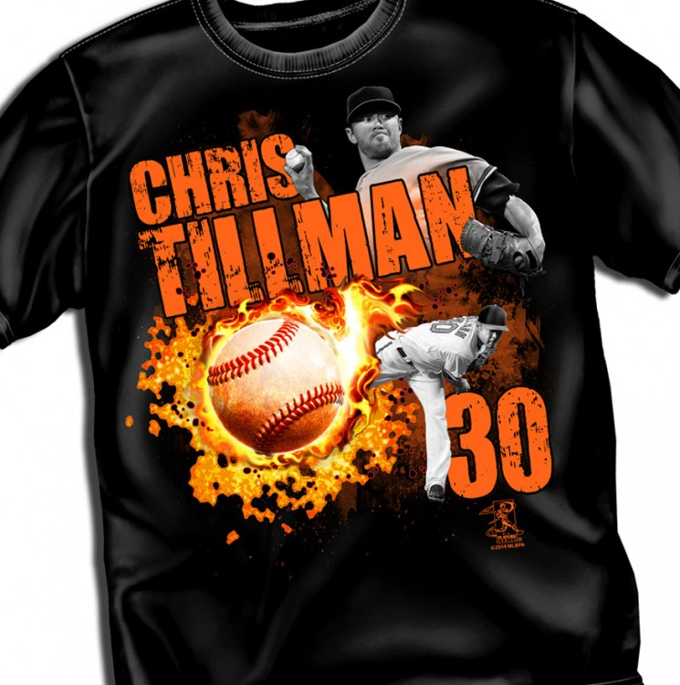 "Baltimore Tillman ""Fireball"" Tee"