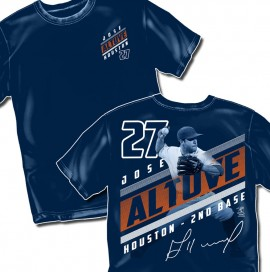 "Houston Altuve ""Diagonal Style Graphic"" Tee"