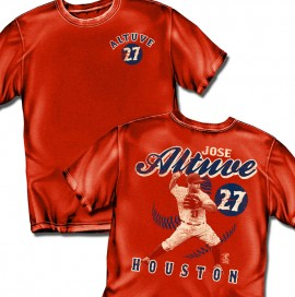 "Houston Altuve ""Vintage Style"" Adult Tee"
