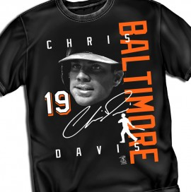 "Baltimore Chris Davis ""Signature"" Tee"