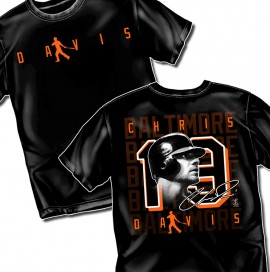"Baltimore Chris Davis ""Silhouette Style Graphic"" Tee"