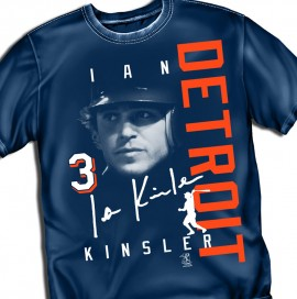 "Detroit Kinsler ""Signature Graphic"" Tee"
