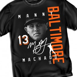 "Baltimore Machado ""Signature"" Tee"