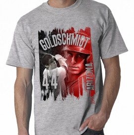 "Arizona  Goldschmitt ""Paint Brush"" Style Adult Tee"