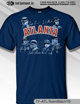 Atlanta 2016 Team Stitch Shirt