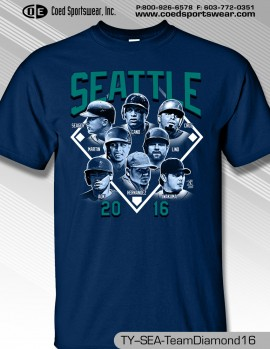 Seattle Team Diamond Shirt